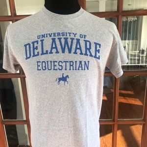 University of Delaware Equestrian T Shirt
